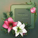 "jaguarwoman's ""Vintage Holiday"" Quickpage"
