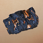 "Jaguarwoman's ""Circassian Slave Girl"" Beaded Cuff"