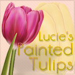 "Lucie's ""Painted Tulips"""