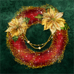 "Jaguarwoman & Lucie's ""Holiday Wreaths 2011"""