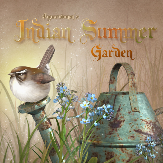 "Jaguarwoman's ""Indian Summer Garden"""