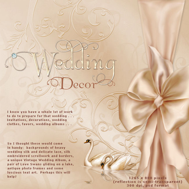 "Jaguarwoman's ""Wedding Decor I"""