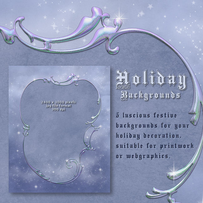 "Jaguarwoman's ""Holiday Backgrounds I"""