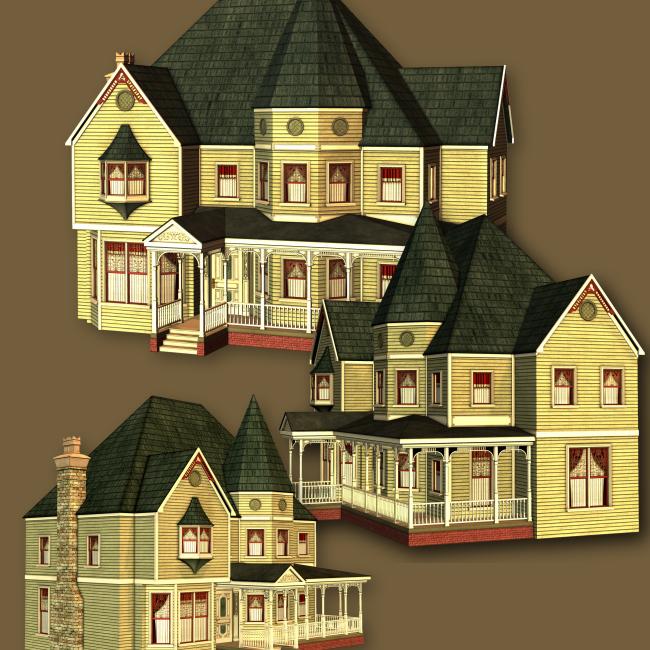victorian house. Jaguarwoman#39;s quot;Victorian House