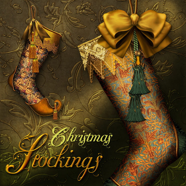 Jaguarwomans Vintage Christmas Stockings