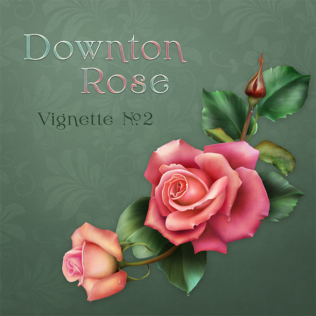 "Jaguarwoman's ""Downton Rose Vignette #2"""