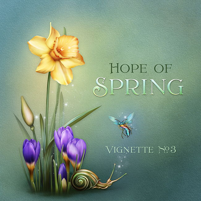 "Jaguarwoman's ""Hope Of Spring Vignette #3"""