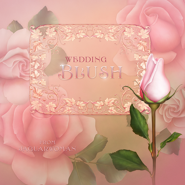 "Jaguarwoman's ""Wedding Blush"""